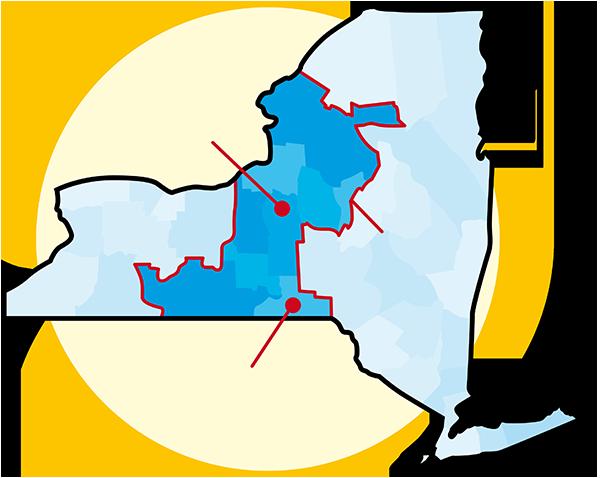 RBERN service area map