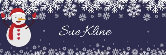 From the desk of Sue Kline